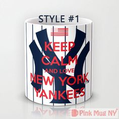 UM HELLOOOO <3 Personalized mug cup designed PinkMugNY  Keep Calm by PinkMugNY, $10.95