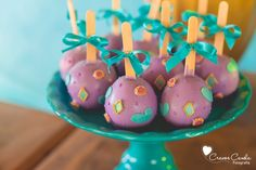 Cake pops from Colorful Princess Jasmine Birthday Party at Kara's Party Ideas. See more at karaspartyideas.com!