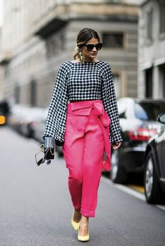 Hot pink pants #fuschia @lucearow