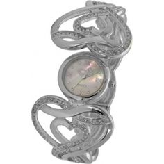 Le Chic Silver womens watch with diamond  L' Inspiration CM 2524D S