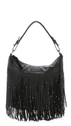 25bbd09761 Frye Heidi Stud Fringe Hobo Bag Fringe Handbags