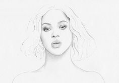 T.S Abe - 8 of 30 frames from my animated beyonce study.