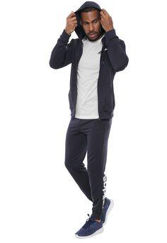 8ea4a302ee Agasalho adidas Performance Mts Lin Ft H Azul-marinho