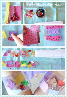 Cutting Practice for Kids.   Develop fine motor skills and creativity with this entertaining activity from Learn with Play at home.