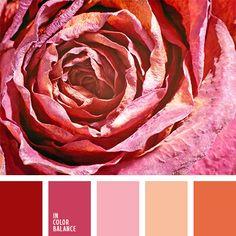 В этой палитре хорошо сочетаются оттенки розового, такое их применение возможно при оформлении помещения для импульсивной и эмоциональной девушки.-798