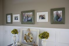 using command strips to hang photos