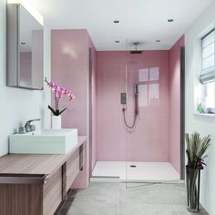 Bathroom interior design 31173422408755733 - 6 Pink bathrooms that will make you wish for spring to come faster – Daily Dream Decor Source by Bathroom Goals, Bathroom Layout, Bathroom Interior Design, Bathroom Designs, Bathroom Organization, Bathroom Storage, Bathroom Mirrors, Bathroom Cabinets, Bathroom Faucets
