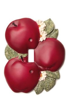 Country Apple Decor Kitchen Drawer Pulls (Set of 6) ~NEW~ | eBay ...