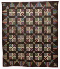 "Glad Creations Quilt pattern ""Tapestry."" This is the next quilt I'm going to make, although with different fabric."
