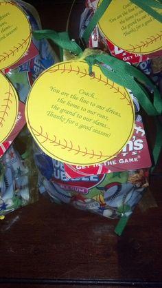 Goodie bag with duhnam's gift card, sunflower seeds, peanuts, cracker jacks, gum