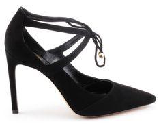 szpilki baldowski d01457/1451/001 czarny zamsz Heels, Model, Fashion, Heel, Moda, Fashion Styles, Scale Model, High Heel
