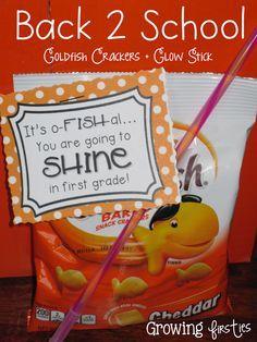 Growing Firsties: It's O-Fish-Al...You are going to SHINE in ___ Grade! Freeeeeeebie!