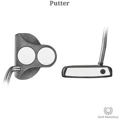 Types of Golf Clubs - Illustrated Guide into Golf Club Types | Golf Distillery Golf Terms, Single Club, Putt Putt, Golf Ball, Distillery, Golf Clubs, Things That Bounce, Type, Sports