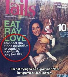 Oxford commas save dogs.