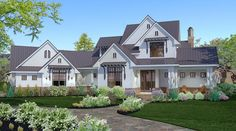 Traditional Plan: 2,984 Square Feet, 3 Bedrooms, 2.5 Bathrooms - 9401-00018