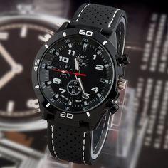 Rugged Military Style Quartz Watch
