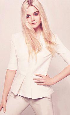 Elle Fanning for Elle US, November 2012