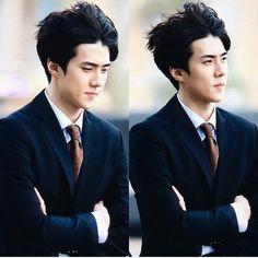His hair omaya so cuteeee