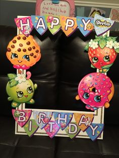 Photo frame! Shopkins party