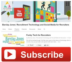 Funky Technology for Recruiters - something to watch on YouTUbe  http://www.barclayjones.com/blog/recruitment-technology/funky-technology-for-recruiters-something-to-watch/
