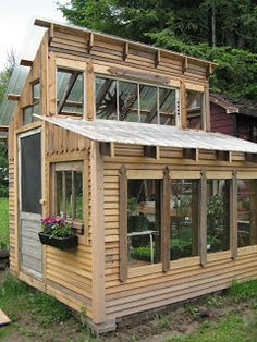Heritage Harvest: The Gift of Gree post Backyard Greenhouse, Greenhouse Plans, Backyard Landscaping, Pallet Greenhouse, Greenhouse Wedding, Garden Structures, Outdoor Structures, Solarium, Backyard Buildings