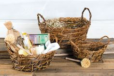 Gift someone special with a spa day themed basket