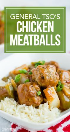 General Tso's Chicken Meatballs: 368 calories | 10 SmartPoints
