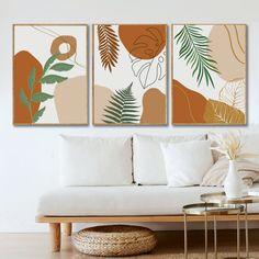 Boho embellished A4 framed art print boho decor Canvas art print Boho art pyschedelic art, room embellishment