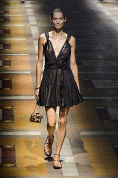 Показ Lanvin на Неделе моды в Париже\Paris Fashion Week