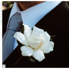 The Boutonniere- Perfectly Simple
