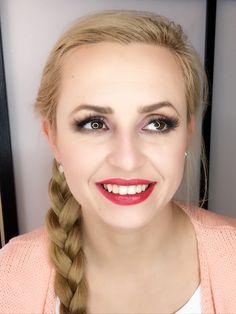Joanna - makijaż wykonany przy użyciu wyłącznie wegańskich produktów Arbonne :)