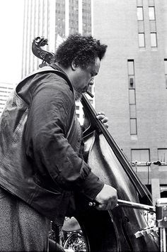 Ladies and gentlemen, the incomparable Charles Mingus - playing the bow...Yeah!
