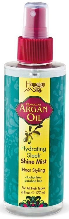 Hawaiian Silky Argan Shine Mist 6 oz. (Pack of 2) *** Learn more by visiting the image link.