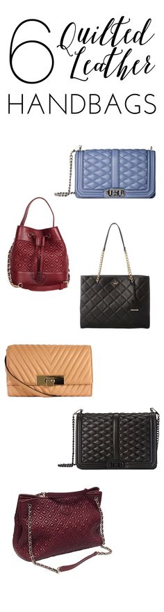 6 quilted leather handbags to help you pick the perfect gift for the handbag lover in your life