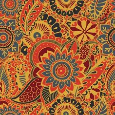 Free Vector | Luxury ornamental mandala background in gold color Mandala Background, Orange Background, Background Patterns, Mandala Pattern, Mandala Design, Pattern Flower, Mehndi, Golden Pattern, Black Pattern