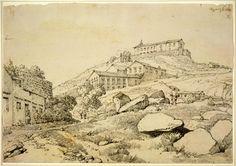 Portuguese Monastery, Macau, George Chinnery