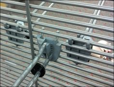 See-thru Slatwire Sight Leak Main See Through, Grid, Hooks, Retail, Concept, Furniture, Color, Colour, Home Furnishings