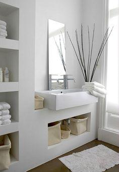 nisjes badkamer