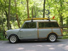 Mini Woody. I'd drive the heck out of this.