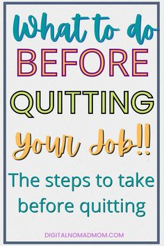 """Here are 10 things you'll want to consider before quitting your day job for """"retirement"""" or just finding a new job. Make sure you think about all 10 of these before making that leap to freedom!"""