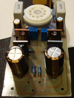 Populate 12AU7 / IRF510 Tube Headphone Amp