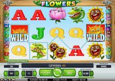 Flowers im Test (Net Ent) - Casino Bonus Test