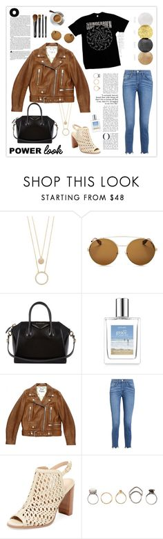"""""""What's Your Power Look?"""" by mars ❤ liked on Polyvore featuring Kate Spade, Givenchy, Acne Studios, 3x1, Renvy, Iosselliani, NARS Cosmetics and MyPowerLook"""