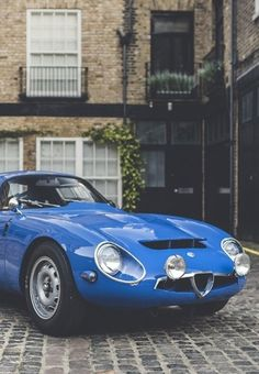 Alfa Romeo TZ1 Zagato Coupé