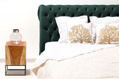 Pat tapitat Allon Petrol Green/Beech #homedecor #inspiration #decodesign #green Throw Pillows, Bed, Green, Furniture, Design, Home Decor, Toss Pillows, Decoration Home, Cushions