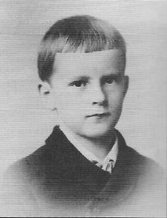 Carl Gustav Jung (born on 26 July 1875) at age six