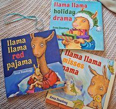 Llama Llama books =)