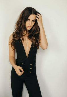 Jessica Lowndes  #JessicaLowndes The Jumpsuit Photoshoot For Her Blog March 2017 Celebstills Jessica Lowndes