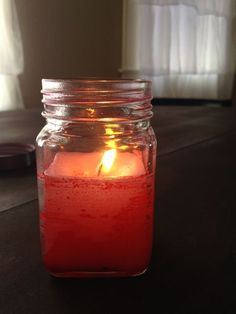 How to make Simple Scented Candle by Microwave! I just posted this. Check it out, It's totally easy!