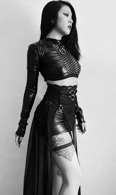 Alternative Outfits, Dark Fashion, Gothic Fashion, Gothic Mode, Goth Women, Sexy, Gothic Outfits, Character Outfits, Steampunk